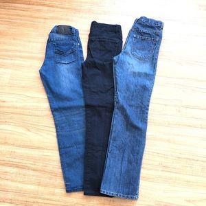 Boys Childrens Place/Steve's Jeans 3pc Lot-Size 12